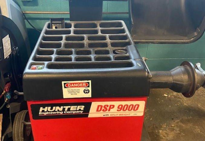 Hunter wheel balancer
