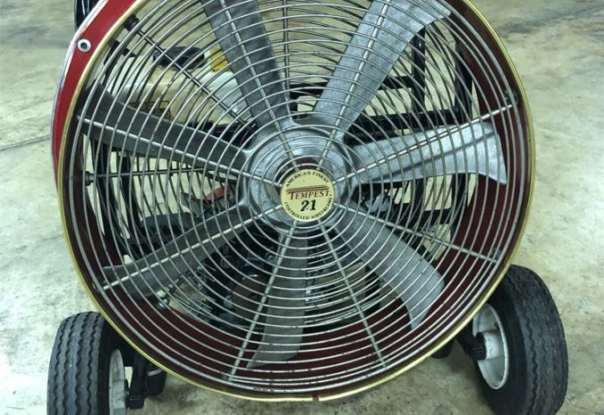 "21"" Positive pressure gas powered fan"