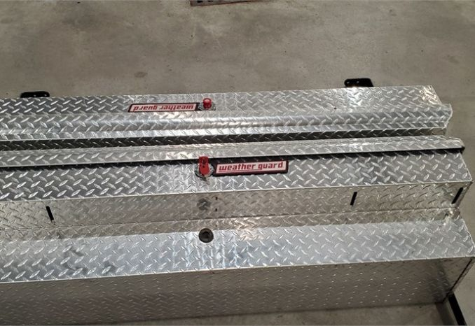 Weatherguard Aluminum Tool Box Set