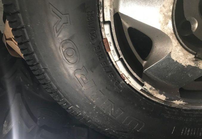 2 LT245/75 R16 (120/116R) Tires