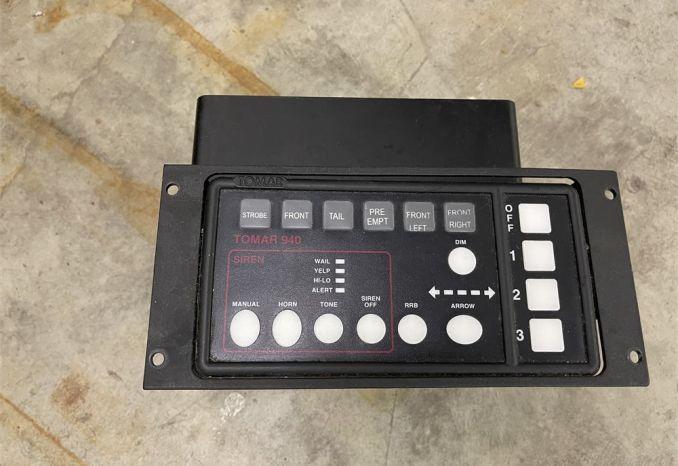 2 Tomar L940 Siren Control Boxes