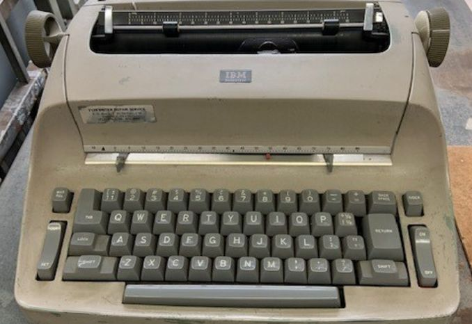 Retro IBM Selectric Typewriter