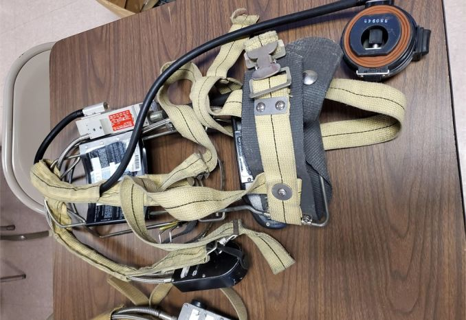 Scott 4.5 SCBA, NO CYLINDERS, Lot of 6