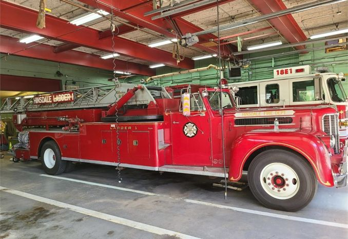 1960 Maxim 85' Ladder Truck