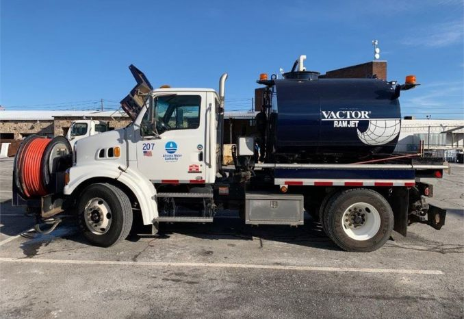 2008 Vactor 1500 series F Jetter mounted on Sterling chassis.