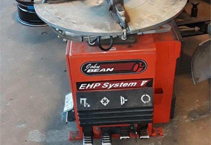 EHP V tire changer