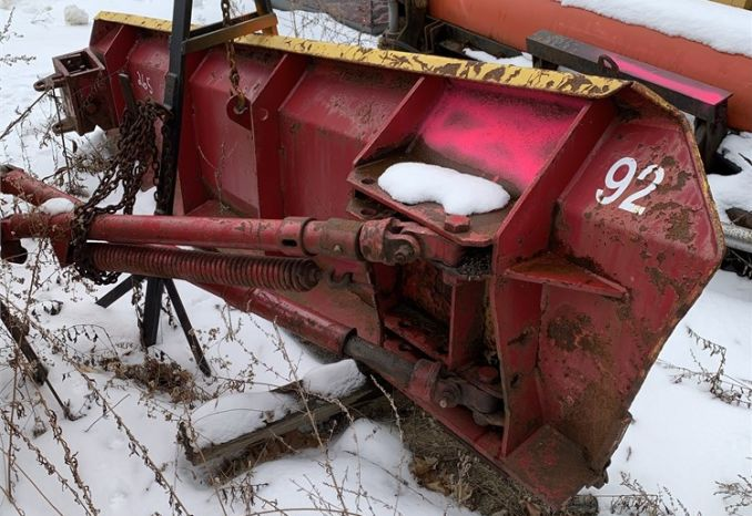 10' Viking cable wing plow