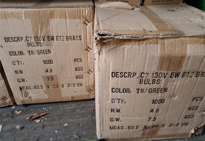 C-7 Green Bulbs