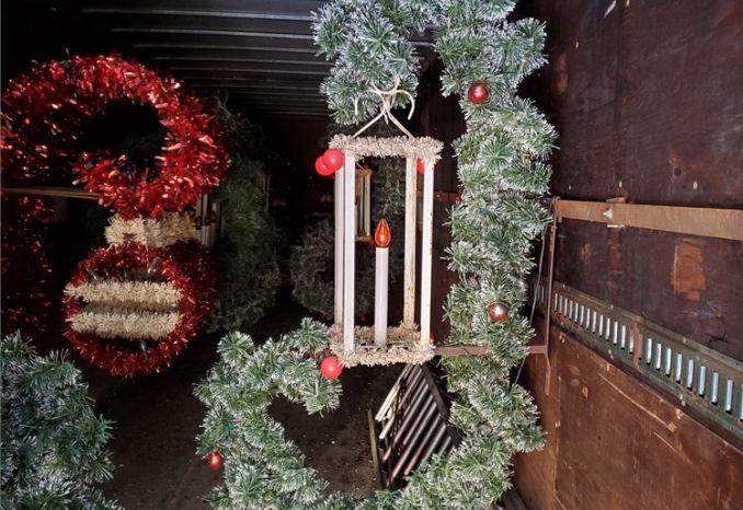 Lantern Christmas Decoration Lot# 1
