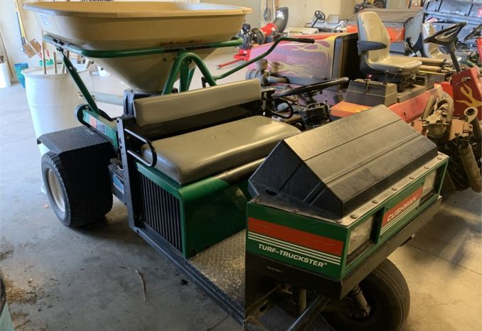CUSHMAN WITH VICON SPREADER