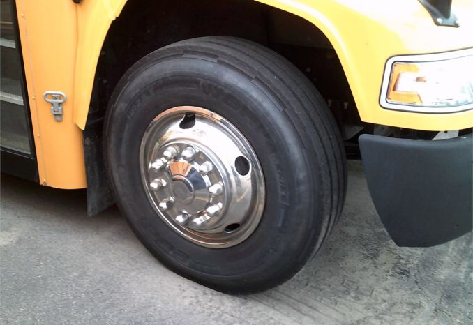 Stainless Steel Wheel Covers 11x22.5