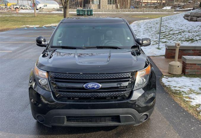 2013 Ford Police Explorer