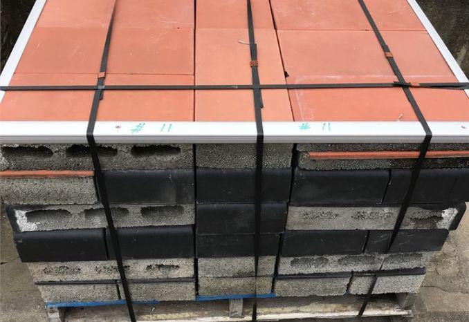 Pallet of cinder block #11