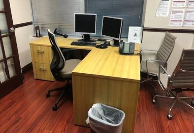 4 - Office Desks various sizes