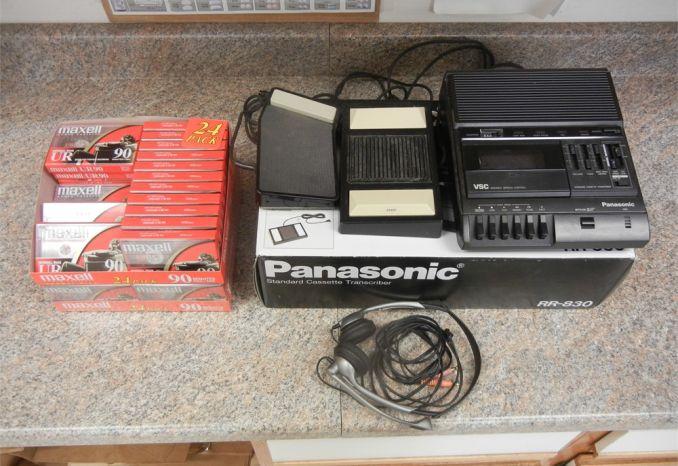 Panasonic Standard Cassette Transcriber