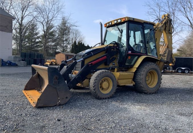 2005 CAT 420DT Backhoe with extendahoe