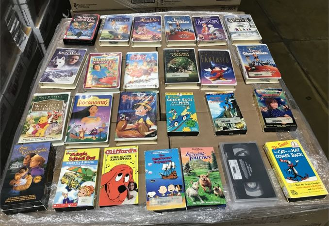 (59) Assorted VHS Movies
