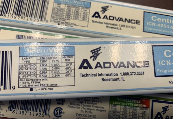 Advance Ballast