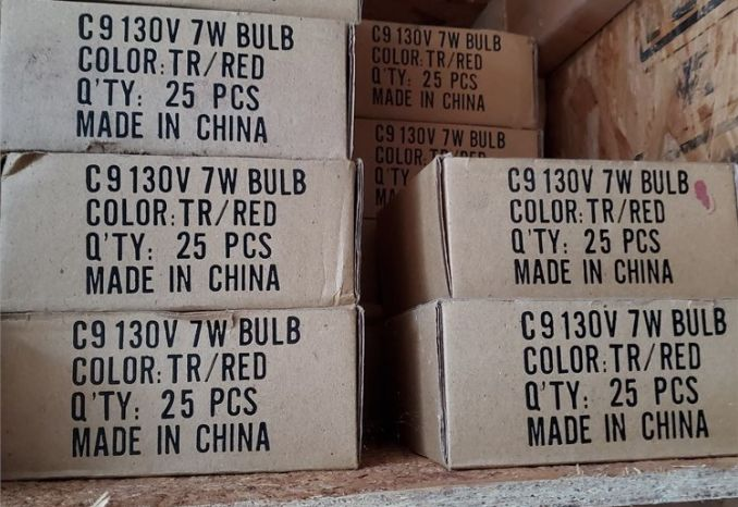 C-9 Red Bulbs