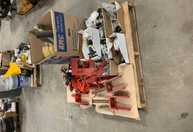Pallet of Mower parts