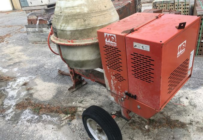 Multiquip Cement Mixer Gas powered