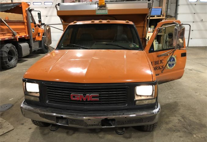 1996 GMC 3500 Diesel Dump