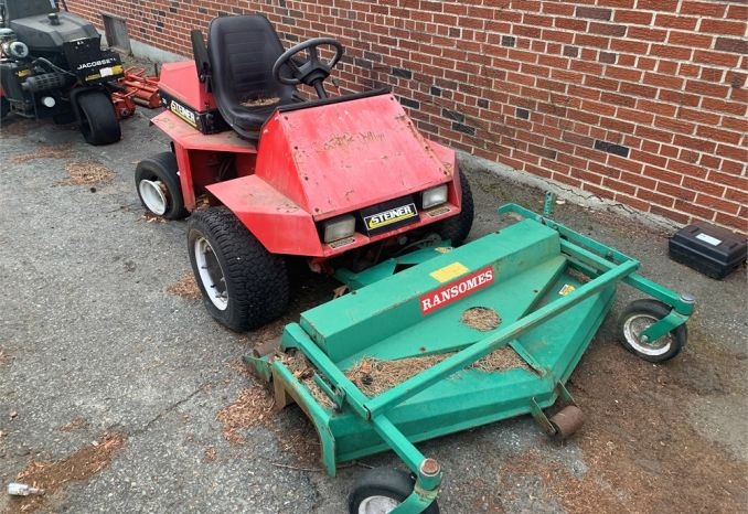 "Steiner 220 Mower with 48"" deck mower"