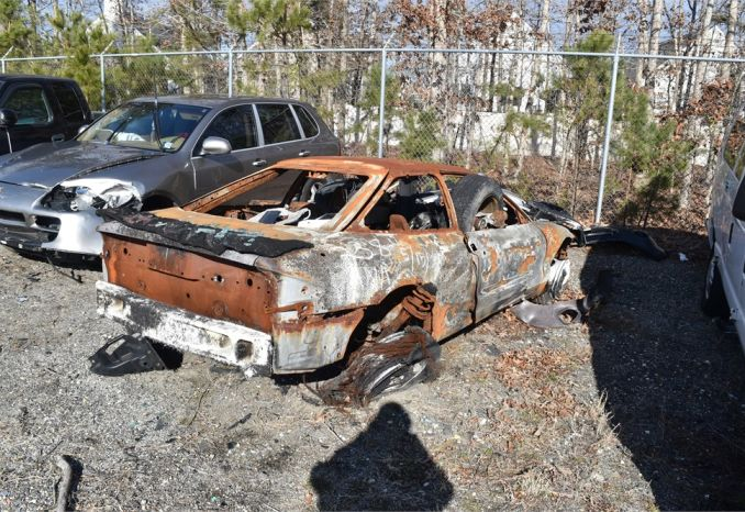 1996 Ford Probe (fire damaged vehicle)