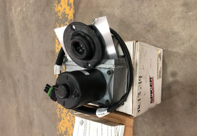 Spicer Electric two speed shift motor