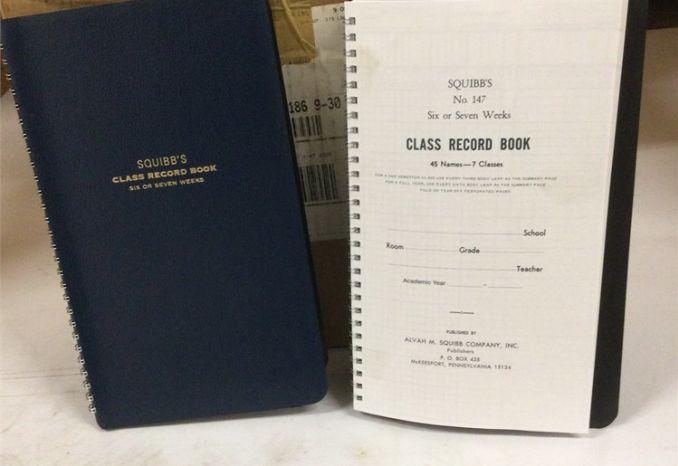 (#12) CLASS RECORD BOOK