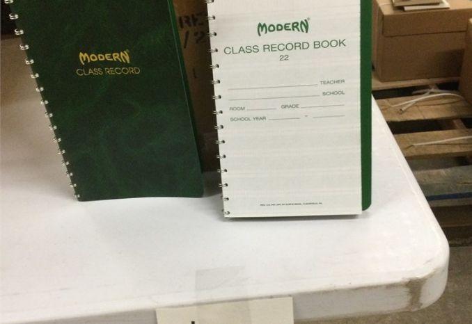 (#13) CLASS RECORD BOOK