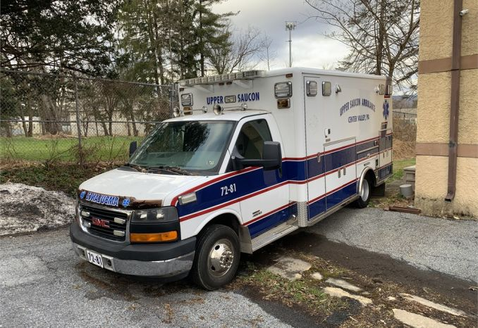 2011 GMC Sierra 4500 Ambulance