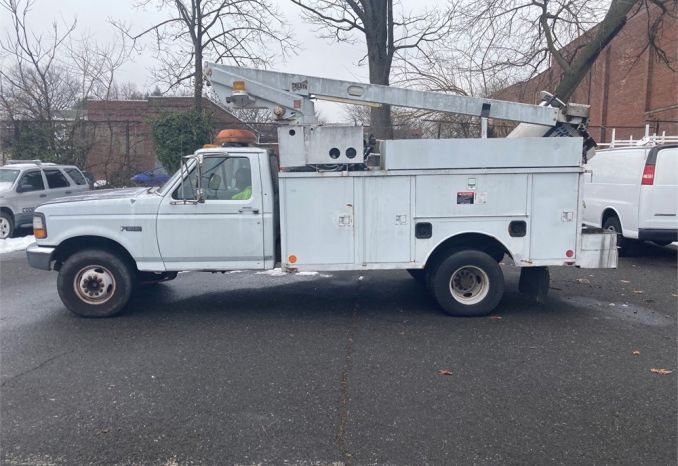 1996 Ford Utility Bucket Truck
