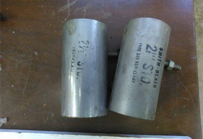 2 1/2 Single Repair Band Clamp
