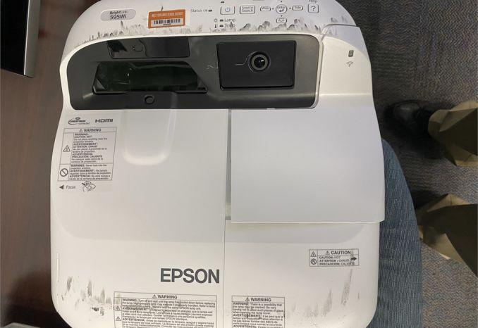 Epson short throw projector