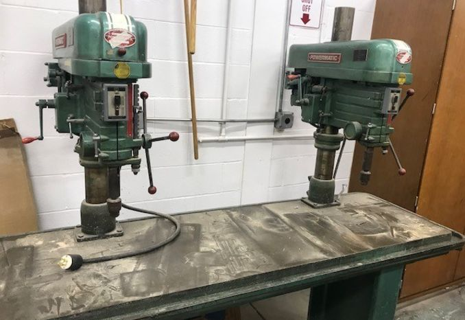 Dual Drill Press with Bench, Powermatic