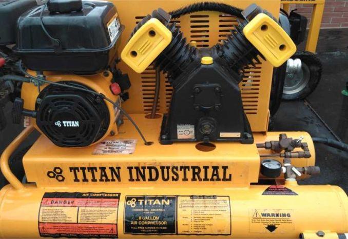 Titan Portable air compressor