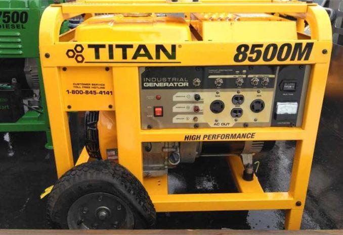 Titan portable Generator 8500M