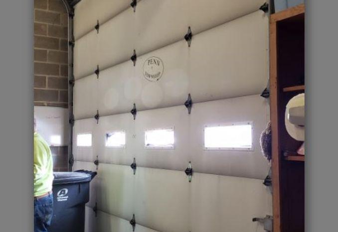 14' wide x 12' tall Commercial Grade Garage Door