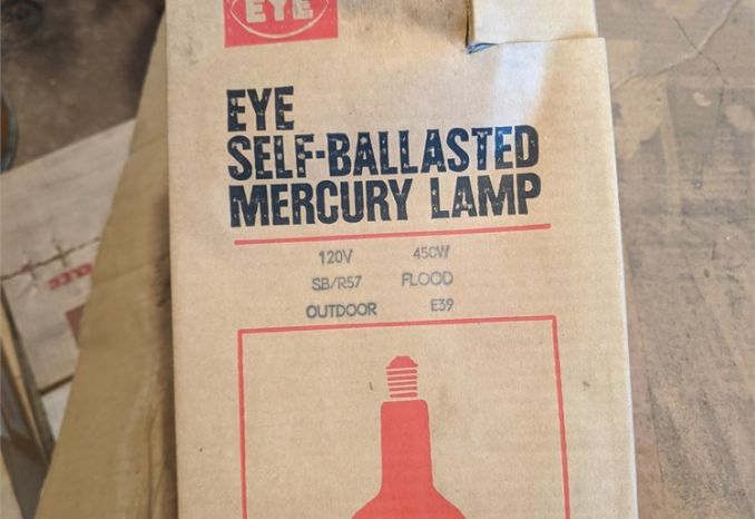 self ballasted mercury bulbs