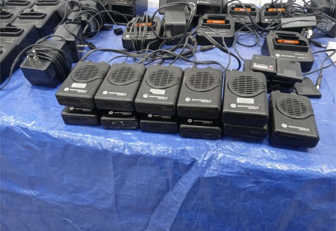 Radios and pagers