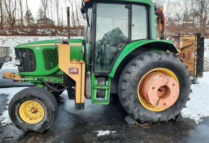 2005 John Deere Tractor with Flail Mower Attachment