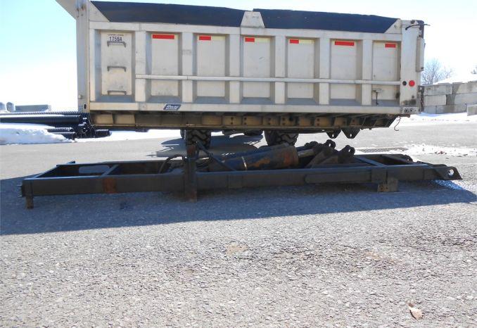 15' Hewey Aluminum Dump Body with Galion Model U770ADA  Sub Frame