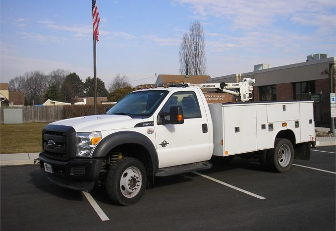 2012 Ford F-550 Utility Truck