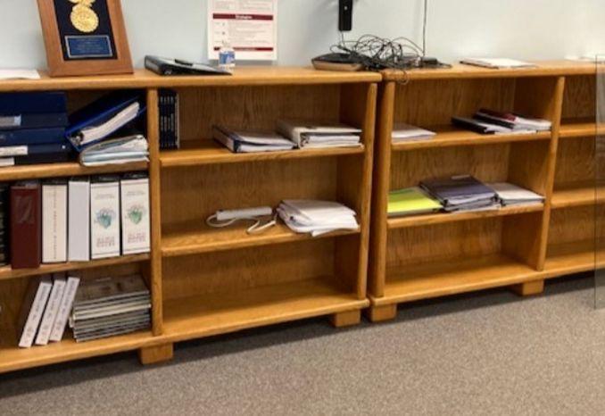 3 Tier Office Shelf