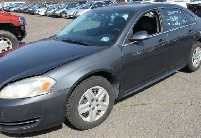 2010 Chevy Impala - DSS2492