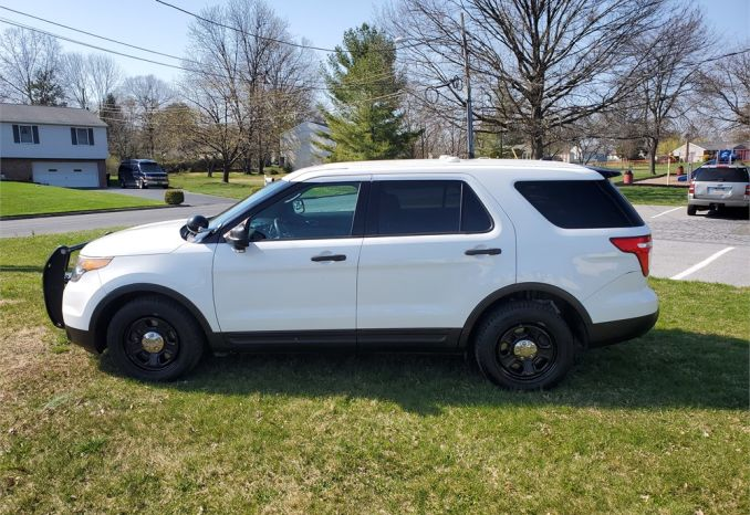 "2015 Ford Explorer ""POLICE INTERCEPTOR."""