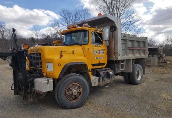 1991 Mack Single Axle Dump Truck