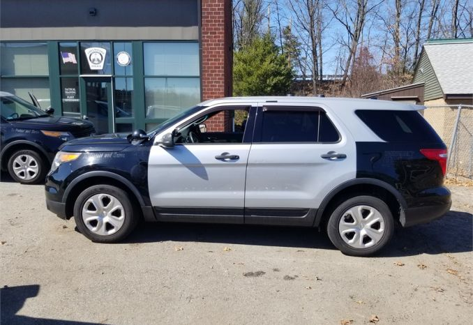 First 2014 FORD EXPLORER POLICE INTERCEPTOR 3.7 V6 AWD