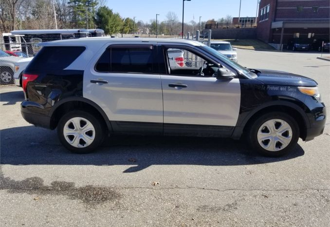 Second - 2014 FORD EXPLORER POLICE INTERCEPTOR 3.7 V6 AWD